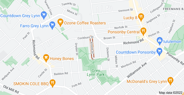 Location of Arnold Street