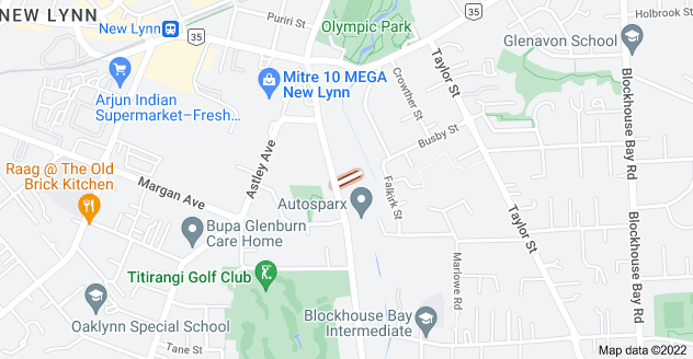 Location of Mcwhirter Place
