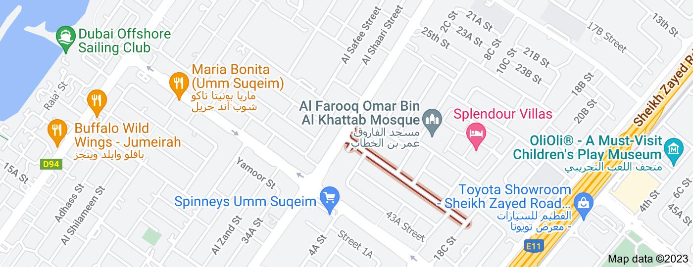 Location of 39th Street