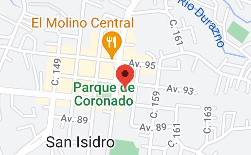 Mapa de Parroquia San Isidro Labrador