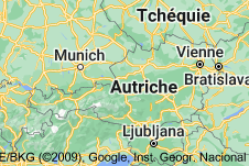 Location of Autriche