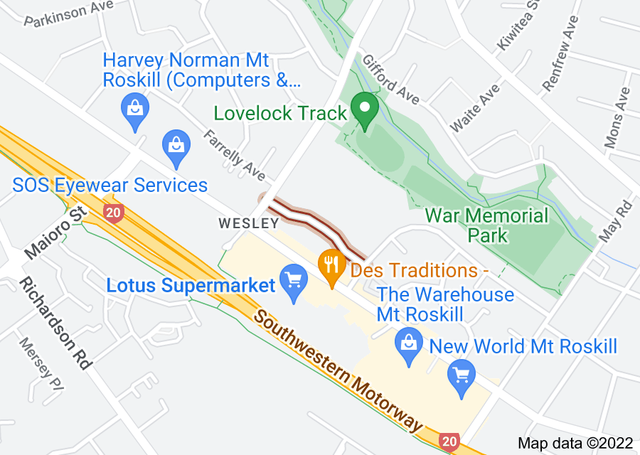 Location of William Blofield Avenue