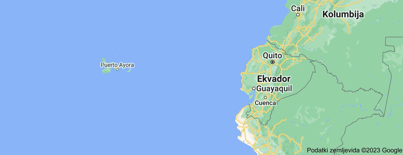 Location of Ekvador