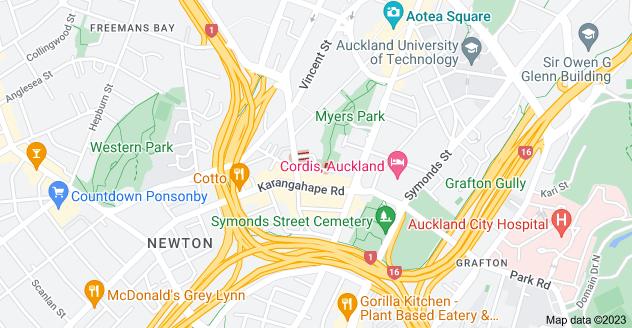Location of Poynton Terrace