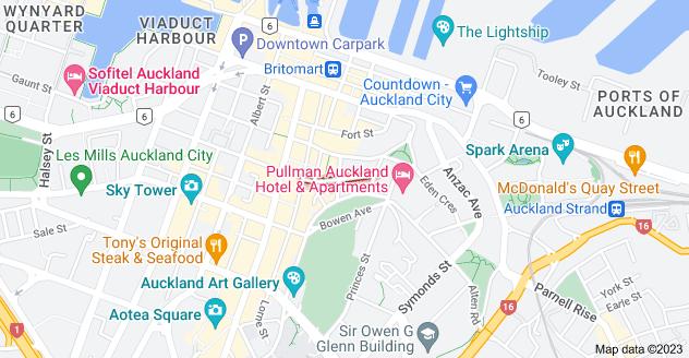 Location of Chancery Street