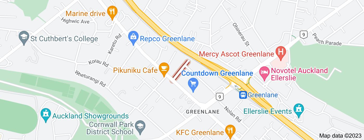 Location of Mapau Road