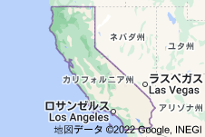 Location of カリフォルニア州