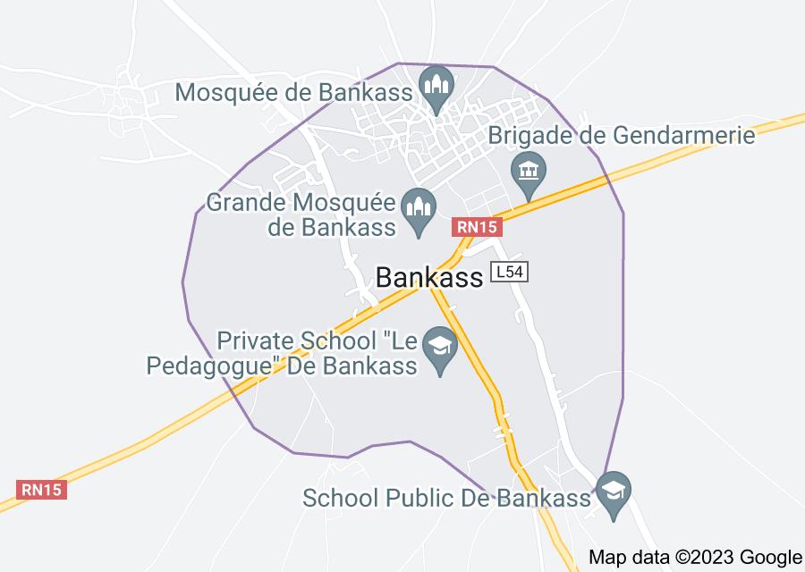 Location of Bankass