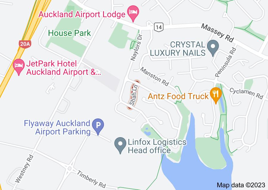 Location of Shah Lane