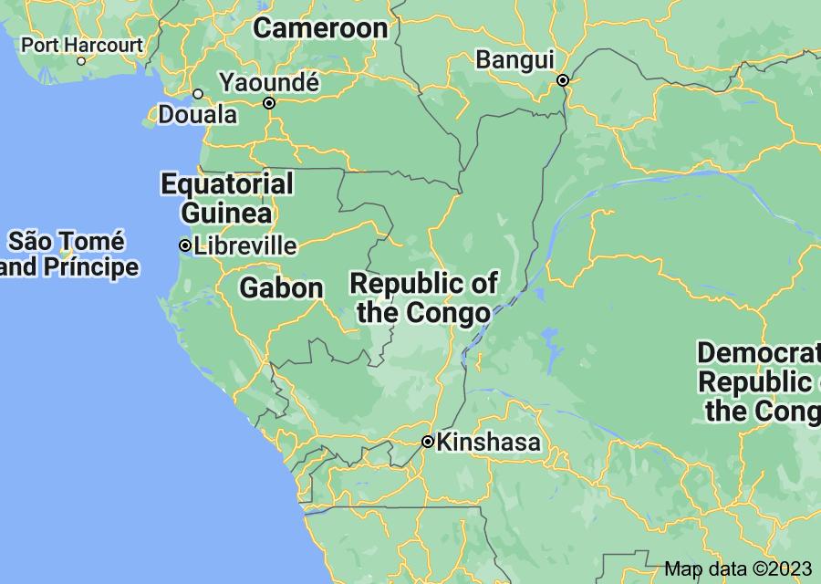Location of Congo
