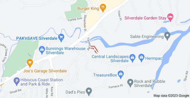 Location of Blue Gum Avenue