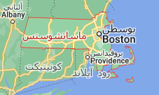 Location of ماساتشوستس