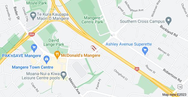 Location of Teo Lane