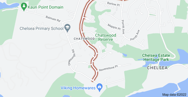 Location of Chelsea View Drive