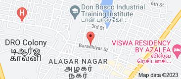 Map of clickmadurai.net