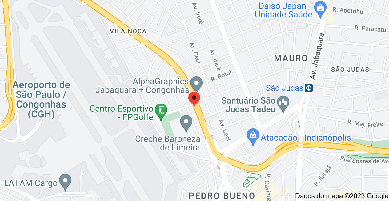 Mapa de Av. dos Bandeirantes, 5688 - Planalto Paulista, São Paulo - SP, 04071-001