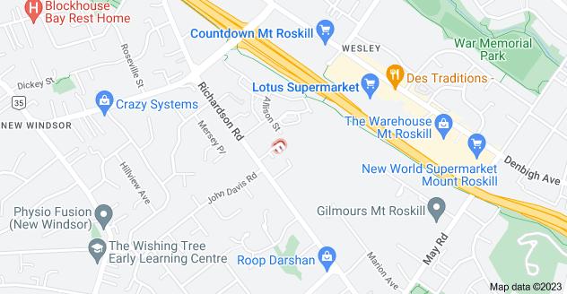 Location of Zeralto Lane