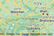 Location of אוסטריה