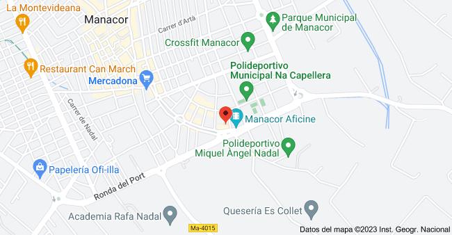 Mapa de Ronda del Port, 22, 07500 Manacor, Illes Balears