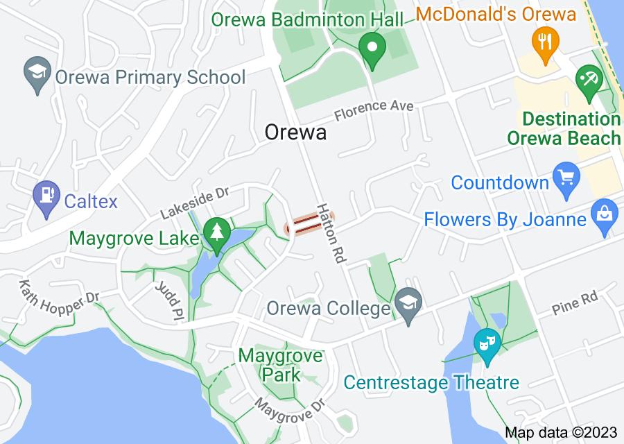 Location of Denham Way