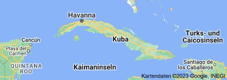 Was man über das heutige Kuba wissen sollte - Karte von Kuba