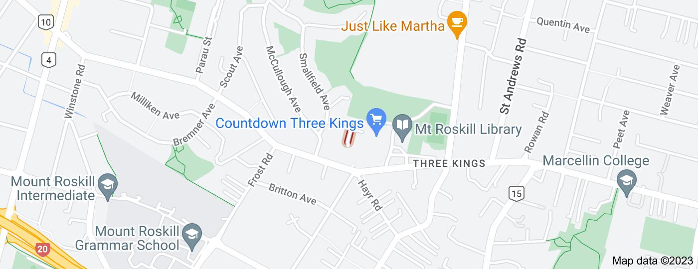 Location of Garrison Avenue