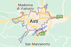 Mappa di: Asti