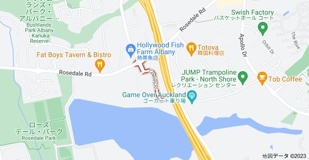 Location of カウリー・プレイス