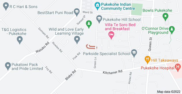 Location of Jackson Place