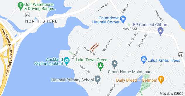 Location of Crichton Terrace