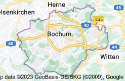 Location of Bochum