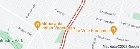 Location of Kiwitea Street