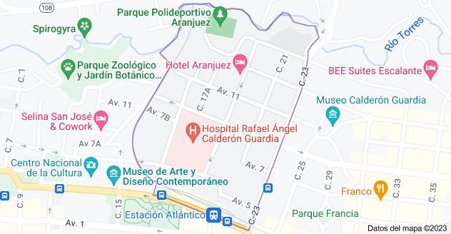 Mapa de Aranjuez, San José