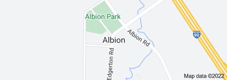 Map of Albion Wisconsin