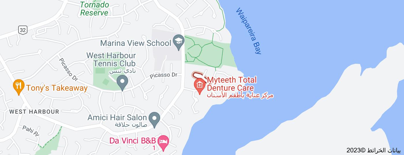 Location of Monet Grove
