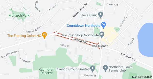 Location of Raleigh Road