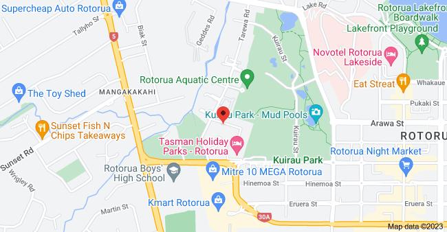 Map of 5 Tarewa Place, Rotorua 3010