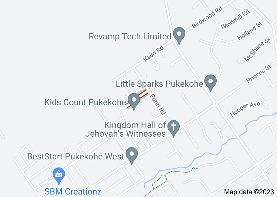 Location of Merlot Lane