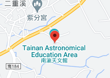 Location of Tainan Astronomical Education Area