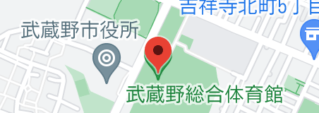武蔵野総合体育館の地図