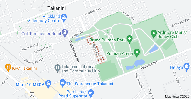 Location of Reins Road