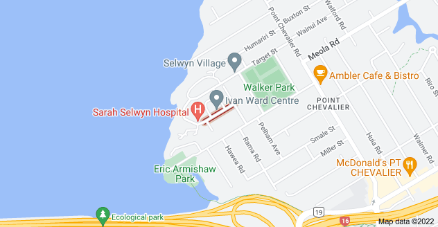 Location of Wainoni Avenue