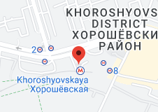 Location of Khoroshyovskaya