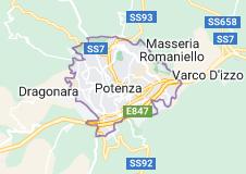 Mappa di: Potenza (Italia)