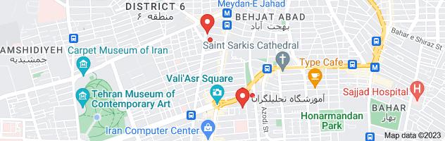 Map of گروه تلگرامی اموزش زبان انگلیسی