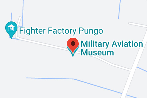 Map of Military Aviation Museum