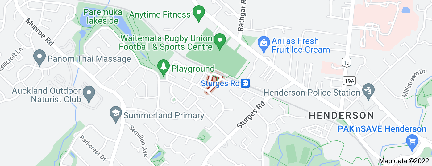 Location of Neta Grove