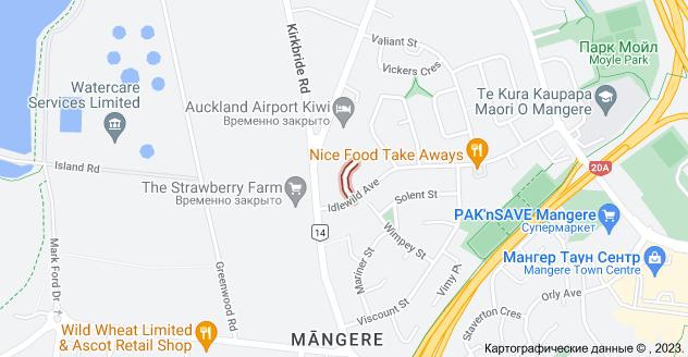 Location of Линетт Плейс