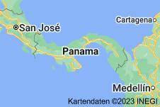 Location of Panama