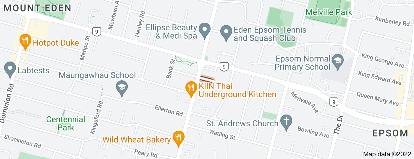 Location of Irene Avenue